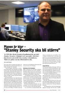 Intervju med Kettil Stenberg i Aktuell Säkerhet