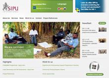 Nya webbplatser för SIPU International