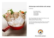 Recept: Vörtwraps med skinka och senap