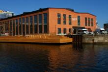 Industriellt landmärke blev modernt kontor för SVT