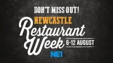 NE1 Newcastle Restaurant Week – 6-12 August
