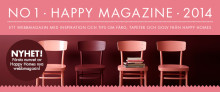 Happy Homes nya inspirerande webbmagasin