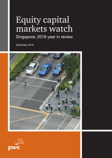 Equity Capital Markets Watch – Singapore: 2018 year in review