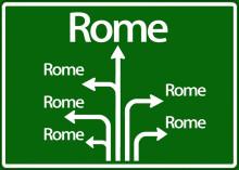 Snart i Rom - så bidrar branschen världen över
