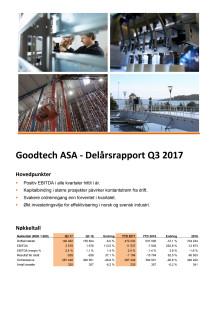 Kvartalsrapport Q3 2017