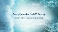 Kort fortalt om Energitjenester (Smart Savers) fra LOS Energy