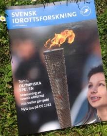 Svensk Idrottsforskning nr 2 ute nu – Tema Olympiska spelen