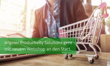 Allgeier Productivity Solutions geht mit neuem Webshop an den Start