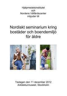 Program Nordiskt seminarium 11 december 2012