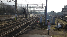 Revised plan means less passenger disruption on West Coast main line during essential Watford upgrade