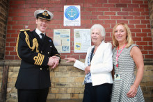 Virgin Trains remembers Royal Navy train that served Crewe during World Wars