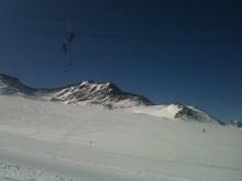 Skifahren in Ötzis Heimat - am Schnalstaler Gletscher