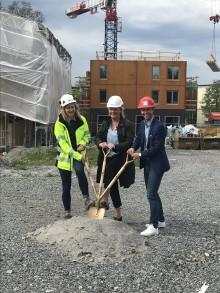 Ikano Bostad bygger 52 hyresrätter i Sköndal i Stockholm