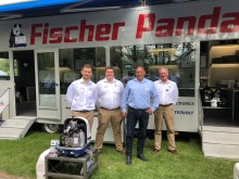 Fischer Panda UK Reports Most Successful Crick Boat Show Yet as Power of Electric Pulls Visitors to New Demo Trailer