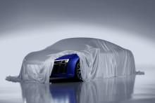 Audi viser laserforlygterne til den nye R8