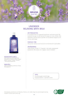 Lavender Relaxing Bath Milk