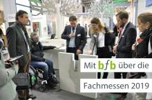 """BAU 2019: Rudolf Müller Mediengruppe zeigt mit """"bfb barrierefrei bauen"""" Lösungen rund um Barrierefreiheit"""