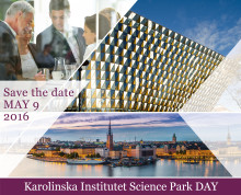 KI Science Park DAY 2016 – Save the date