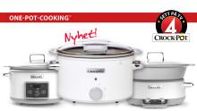 Nya grytor från Crock-Pot förenklar vardagens matlagning