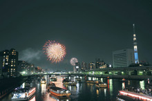 Tokyo Sumida River Fireworks Festival - Held on Saturday, July 29