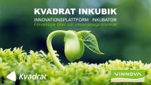 Kvadrat Inkubik hjälper dig förverkliga din idé - förlängt samarbete med Vinnova