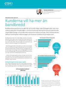 Svenskt Kvalitetsindex bredbandsleverantörer 2018