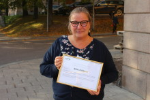 Årets sjuksköterska inom Palliativ omvårdnad 2015