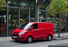 Både nye Transit Custom og 9-seteren Tourneo Custom fikk 5 Euro NCAP-stjerner.