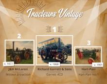 8 tracteurs vintage qui ont ouvert la voie à l'agriculture moderne
