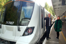 Passengers given first glimpse of new trains set to transform Great Northern suburban service