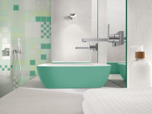 Delicate functionality in colour – The new, inspiring colour schemes for the Artis bathroom sink series.
