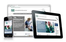 Mobilanpassad patientinformation på www.ds.se