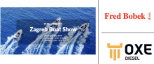 OXE Diesel displayed at Zagreb Boat Show by Fred Bobek d.o.o. 19 to 23 February