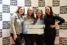 Ålesund-elever til topps på NM for Ungdomsbedrifter
