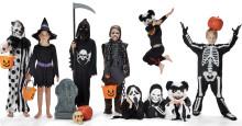 Häxa, zombie och spöke – populära barndräkter under halloween