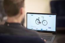 Egendesignad elcykel online - nyhet från Monark