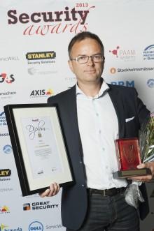 PayEx gratulerar Gardio – vinnare på Security Awards 2013