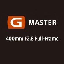 A Sony anuncia o desenvolvimento da nova lente G Master™ 400mm F2.8 Superteleobjetiva Full-Frame E-mount