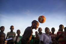 Aarhus' børn støtter flygtningebørns muligheder for at lege