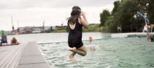Succé för badet i Jubileumsparken