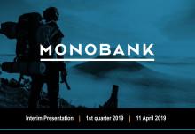 Monobank ASA Q1 2019 Presentation