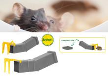Ny fälla för levandefångst för möss och råttor!