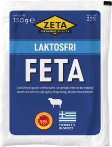 Naturligt laktosfri fetaost från Zeta