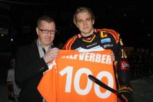 Brynässtjärna ny medlem i 100-klubben