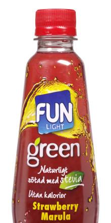 FUN Light Green - naturligt sötad med stevia