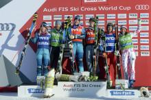 Två svenskar på pallen även idag under AUDI FIS Skicross World Cup på Idre Fjäll