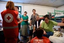 Röda Korset varnar för stigande vattennivåer på Balkan