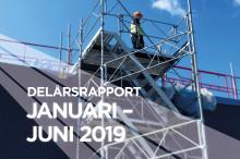 Delårsrapport januari-juni 2019 Stendörren Fastigheter AB (publ)