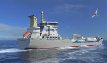 Nya LNG-fartyget Tern Ocean gästar Almedalen