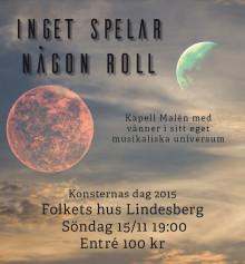 Kapell Malén med vänner firar Konsternas dag i Lindesberg